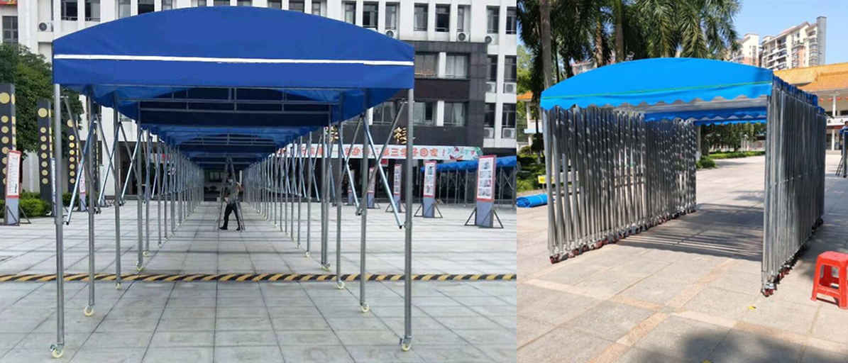 Outdoor Shelter queuing tent