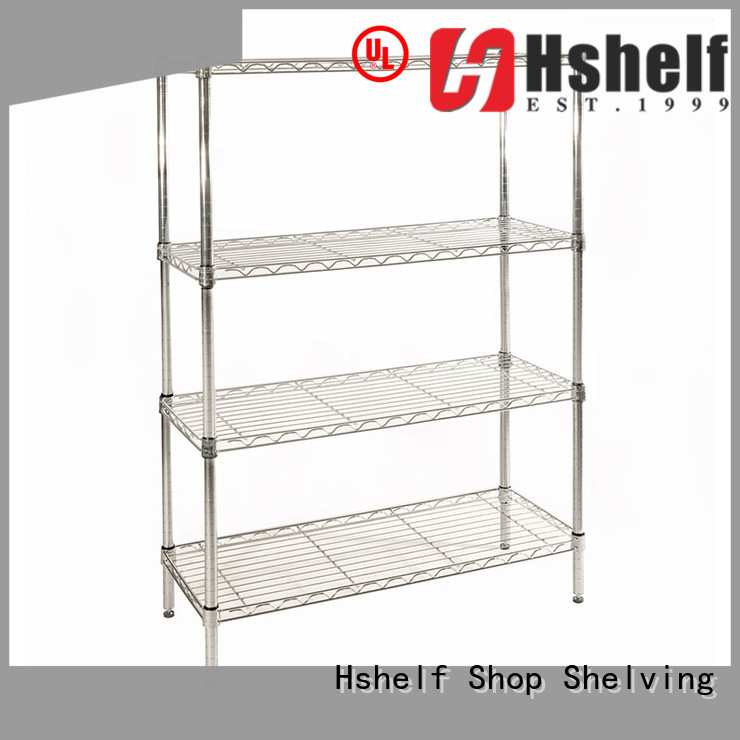 adjustable level wire mesh shelves from China for home use
