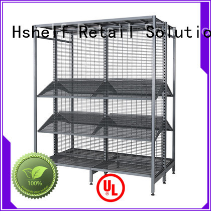 Hshelf classical gondola store shelving personalized for Petrol station stores