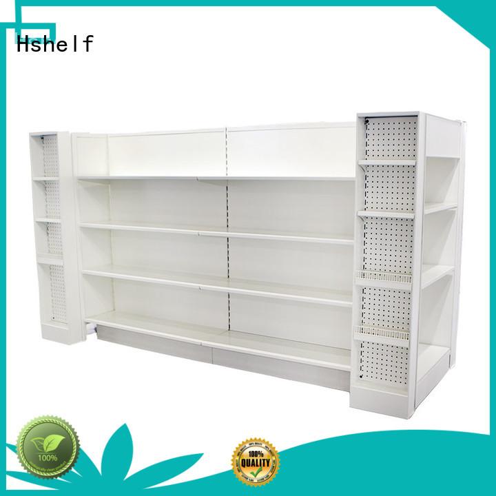pharmacy storage racks for cosmetic store Hshelf