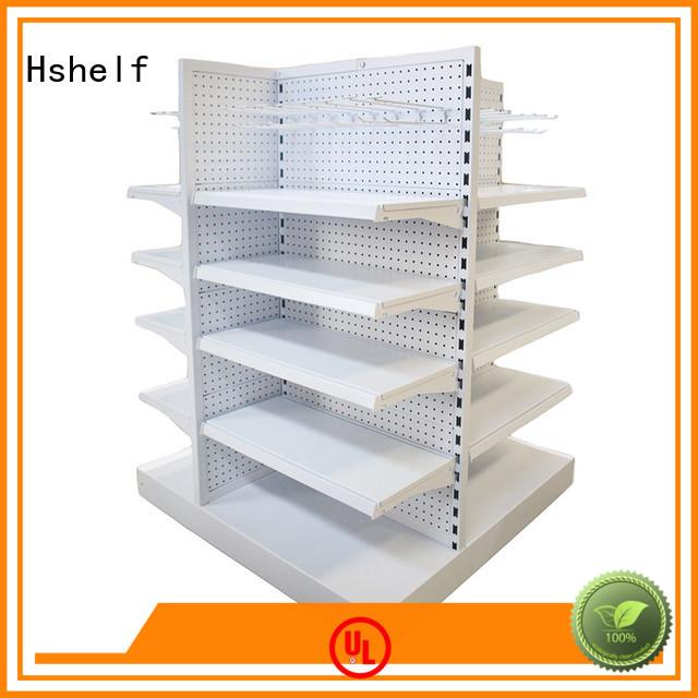 Hshelf customized custom shelving units for supermarket
