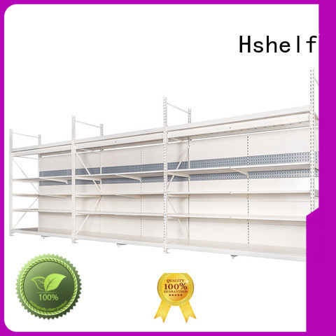 combined commercial shelving from China for hypermarket