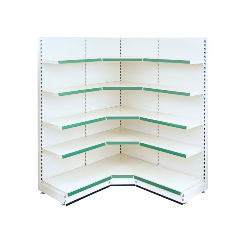 Internal Corner retail shop shelves Display Shelving Unit