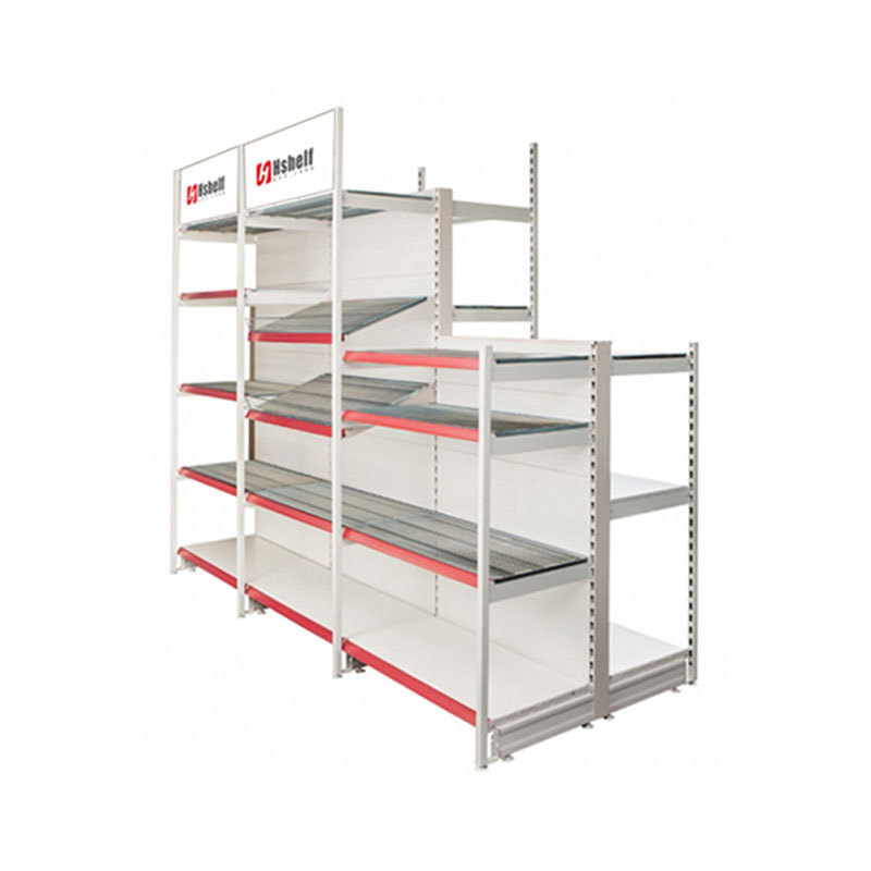 Heavy duty outrigger shop shelf Retail Display Shelves