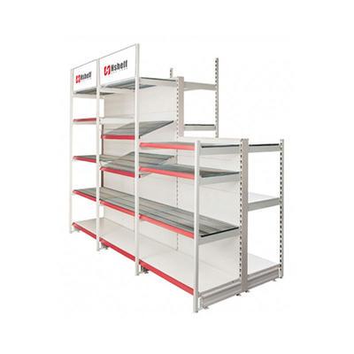 Heavy duty outrigger shop shelf Retail Display Shelves