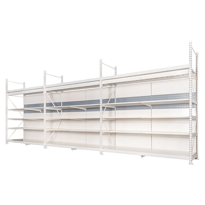 Integrated shop shelving Large Storage Shelves