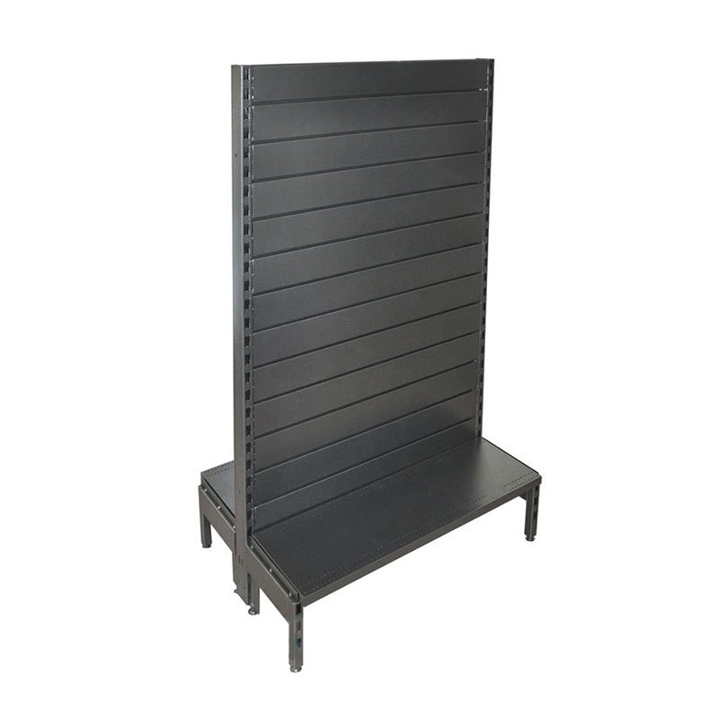 Shop gondolas metal slatwall display panel 900x300x1500mm