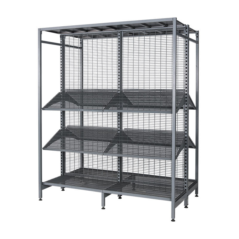 Outrigger Gondola store Shelving wire mesh backing & shelf