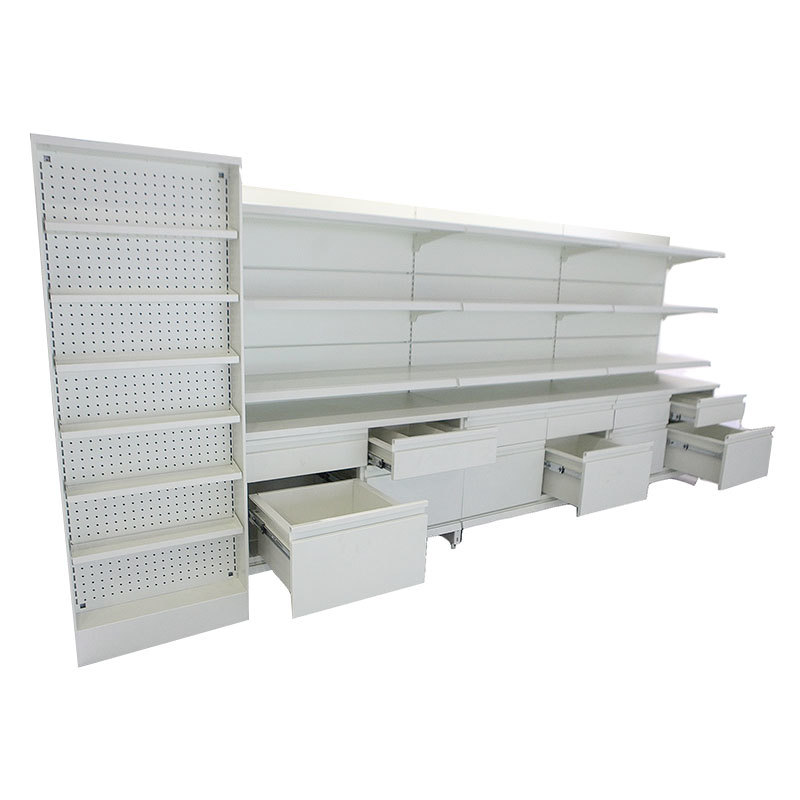 Pharmacy shelving Pharmacy Display Racks Hshelf