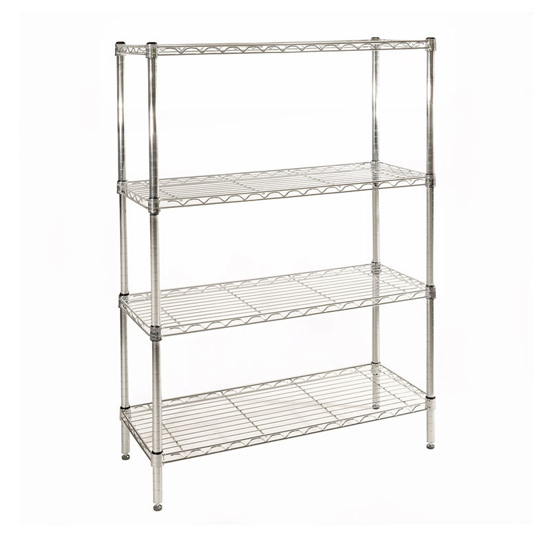 Light duty Chrome Wire Shelving Unit