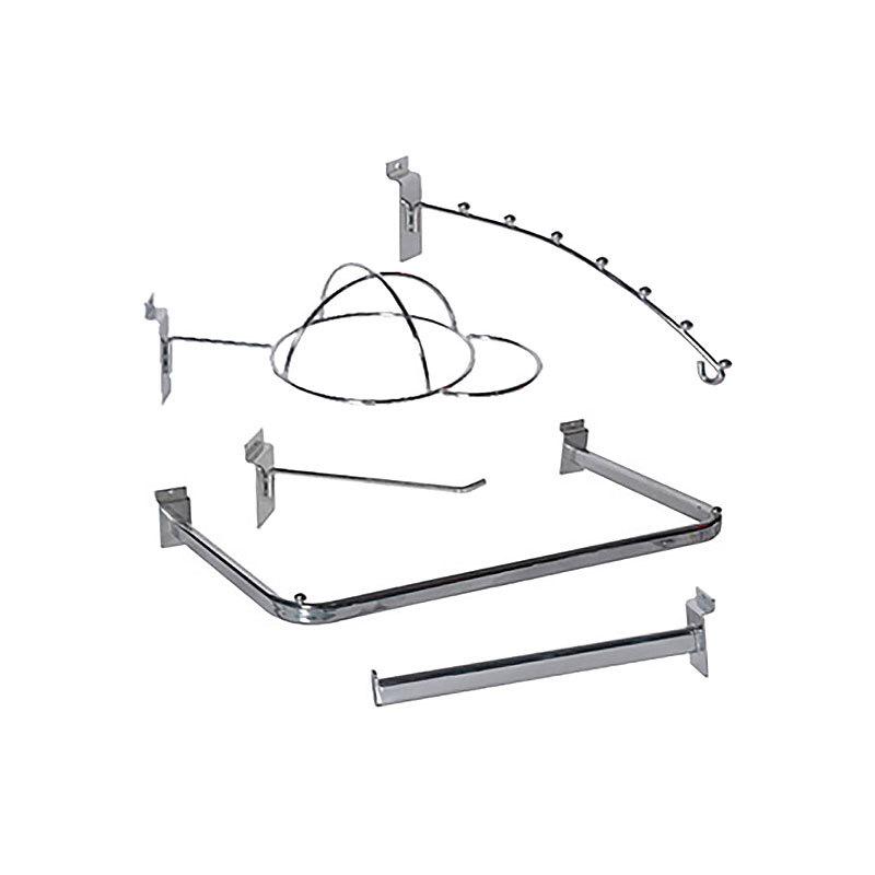 Slatwall Accessories Slatwall hooks and bars Hshelf