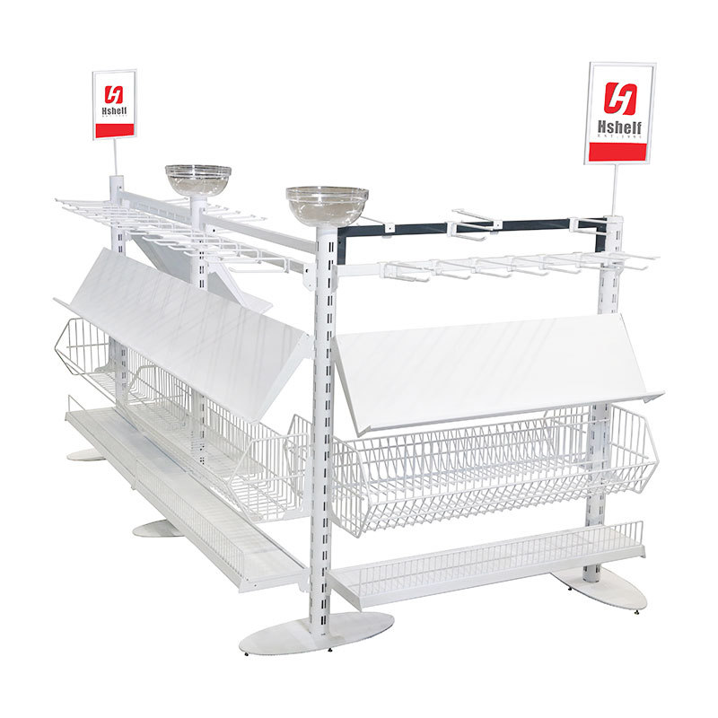Custom Retail Shelving Supermarket Queuing system