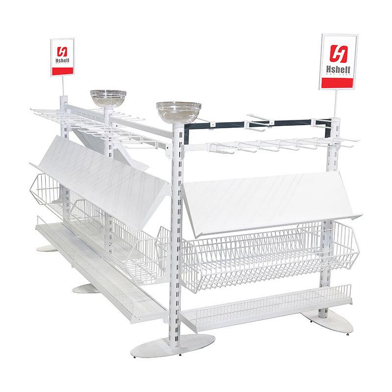 Custom Retail Shelving Supermarket Queuing system