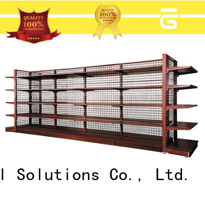 different shape metal wire shelving design for supermarkets