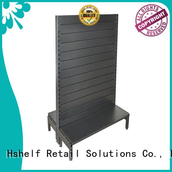 gondola slatwall shelving factory price Hshelf