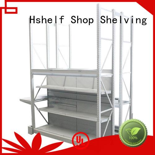 Hshelf commercial shelving customized for hypermarket