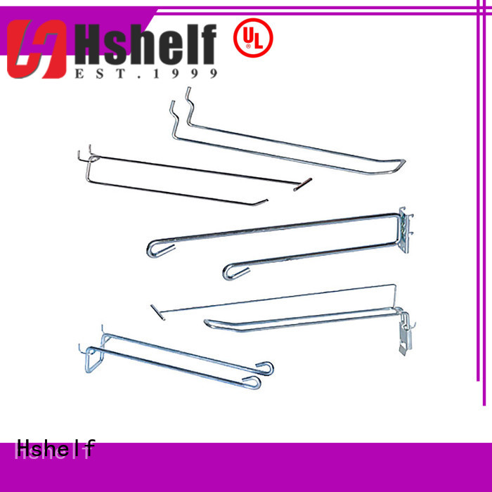 various types retail shelving accessories manufacturer for retail shelf