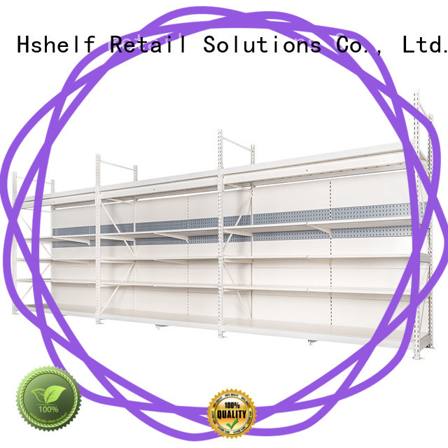 Hshelf combined heavy duty metal shelving customized for DIY stores