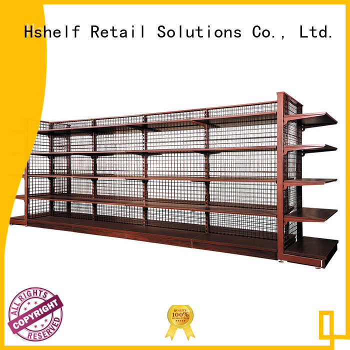 Hshelf supermarket display shelves with good price for electric tools and hardware store