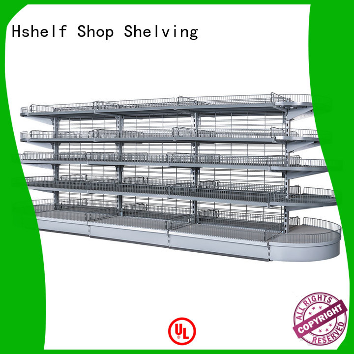Hshelf regular size metal shelving unit with good price for IKEA