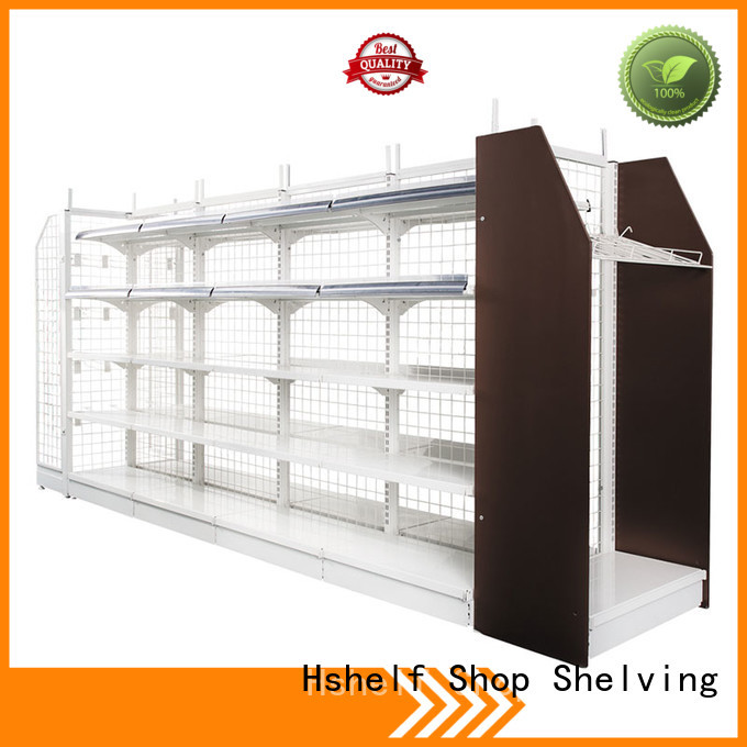 Hshelf space saving retail store display fixtures for convenience store
