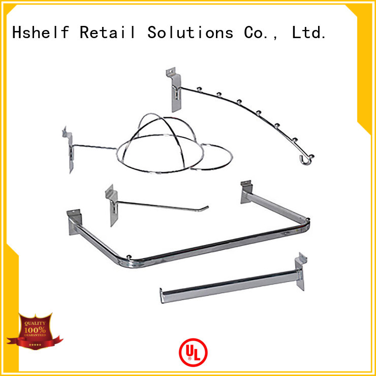 Hshelf slatwall accessories series for hardware shop