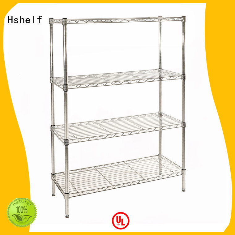 Hshelf steel wire shelving from China for retail shops