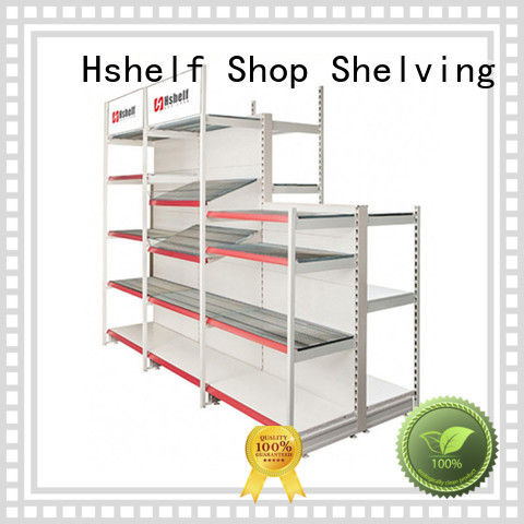 Hshelf simple structure metal storage rack with good price for Kroger