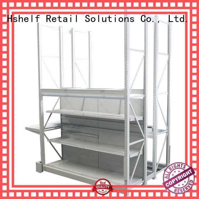 combined heavy duty metal shelving series for big supermarkets