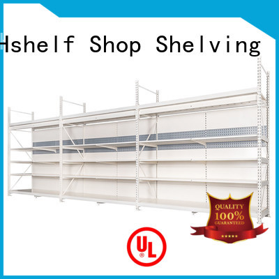 built-in large shelving units series for hypermarket