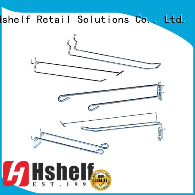Hshelf custom slatwall accessories directly sale for retail shelf