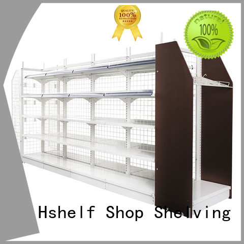 Hshelf small convenience store shelving directly sale for express store