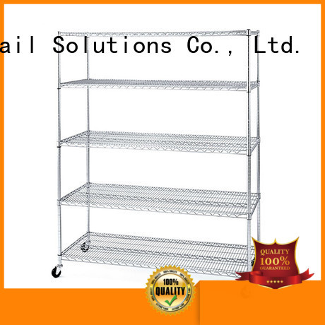 Hshelf adjustable level wire storage unit from China for retail shops