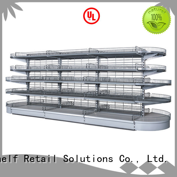 Hshelf regular size display shelving unit design for store