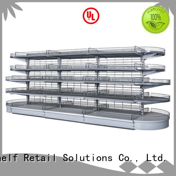 Hshelf regular size display shelving unit design for store