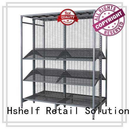 solid retail gondola shelving wholesale for Grain and oil shop