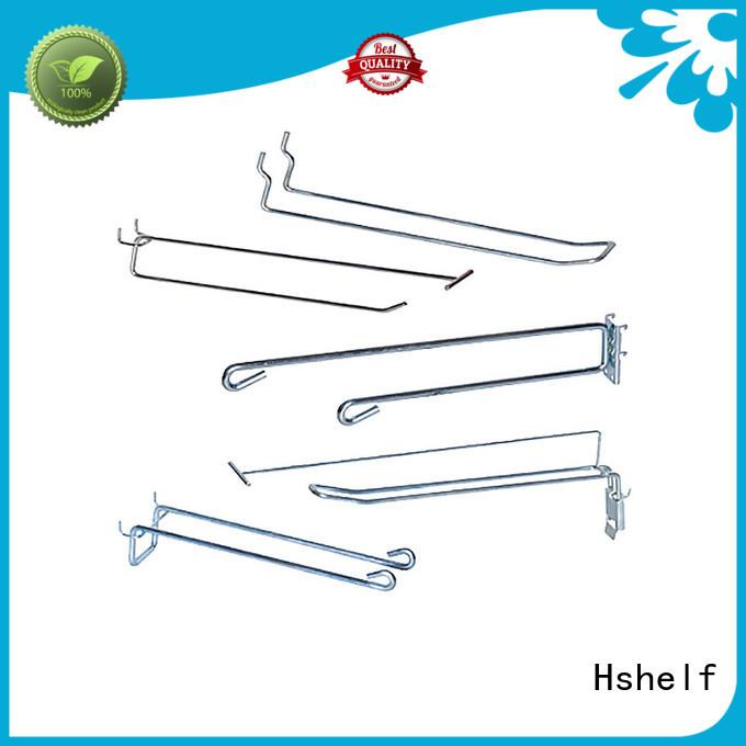 Hshelf slatwall accessories manufacturer for retail shelf