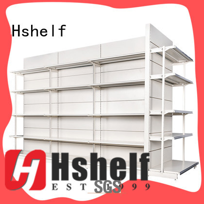 Hshelf stable supermarket display shelves factory for supermarkets