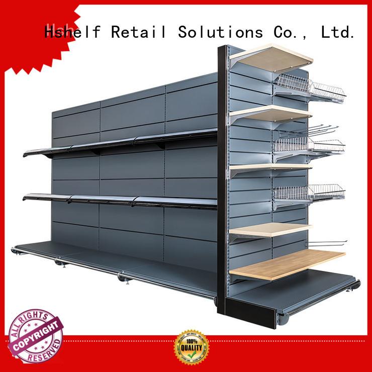 Hshelf stable supermarket shelving design for supermarkets