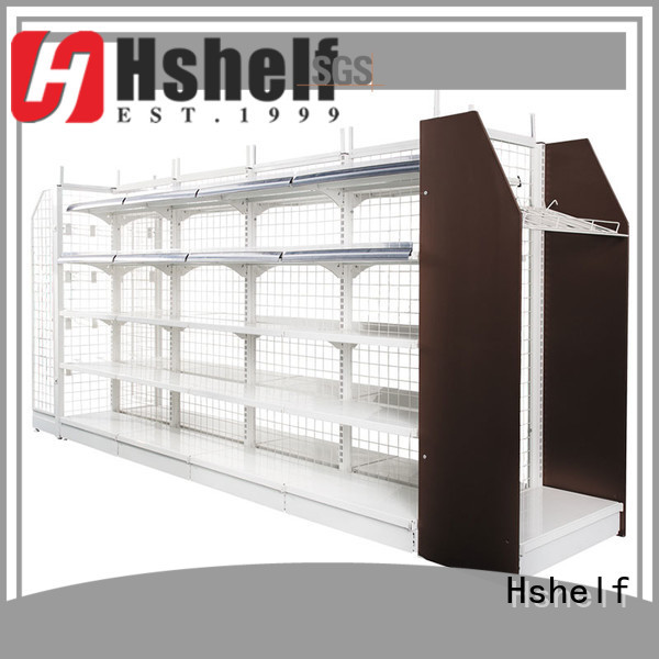 Hshelf fashion look retail store shelving manufacturer for small store