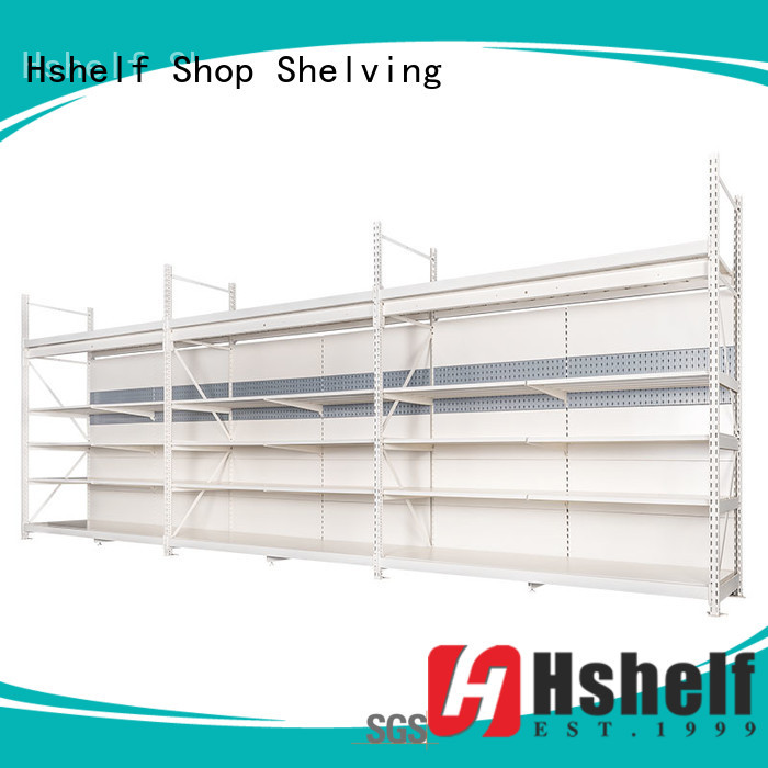 Hshelf commercial shelving directly sale for hypermarket