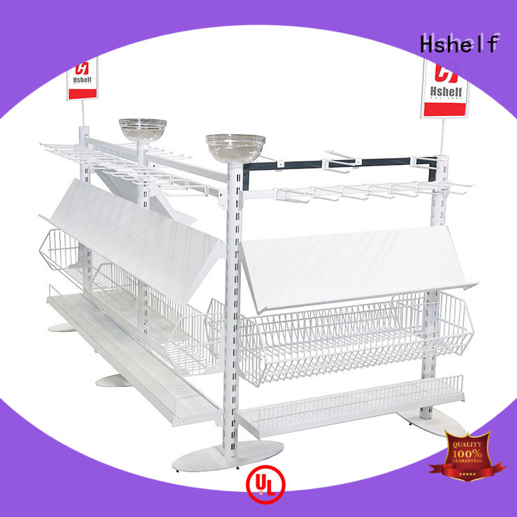 custom wall shelves wholesale products for sale for supermarket Hshelf