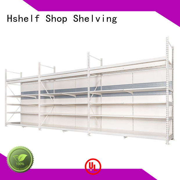 Hshelf built-in heavy duty shop shelves customized for store