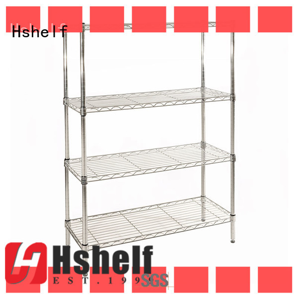 Hshelf commercial wire rack manufacturer for retail shops