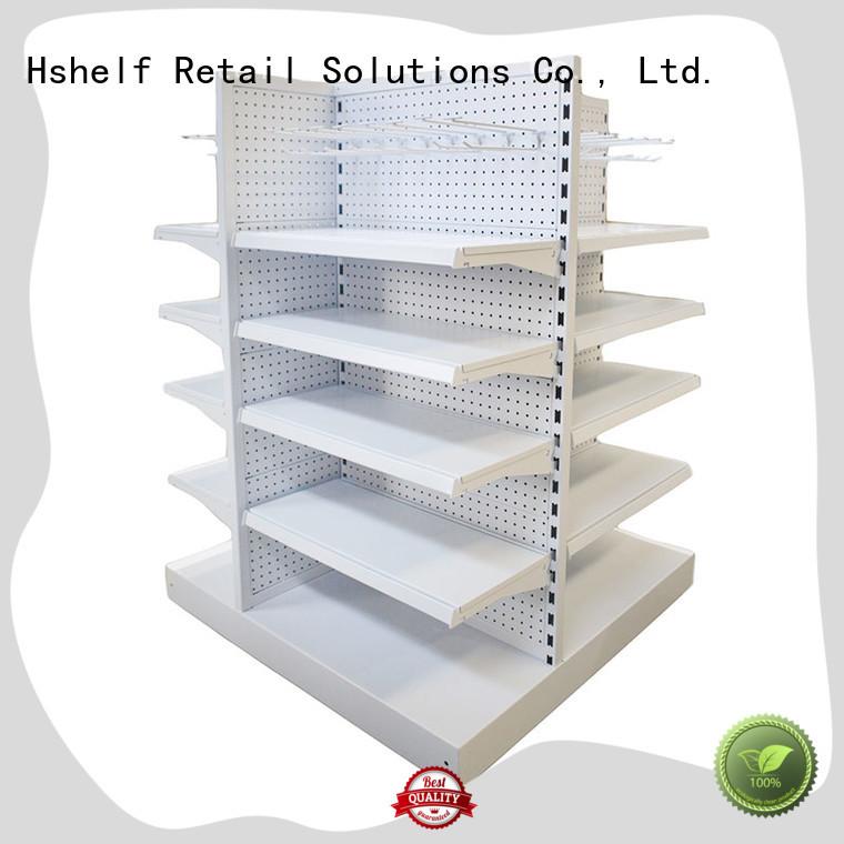 Hshelf customized custom shelving units for display