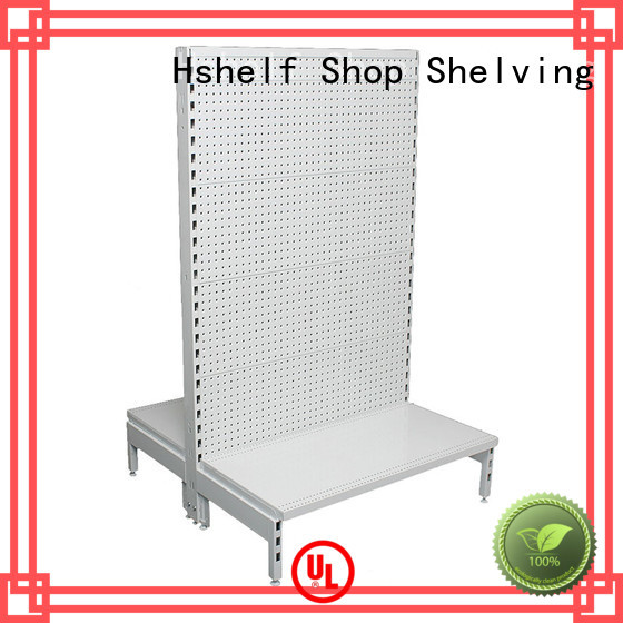 Hshelf Grid wire meshing slatwall display factory price
