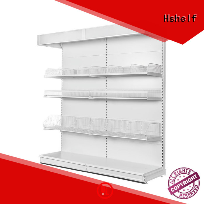 simple structure warehouse shelving design for store