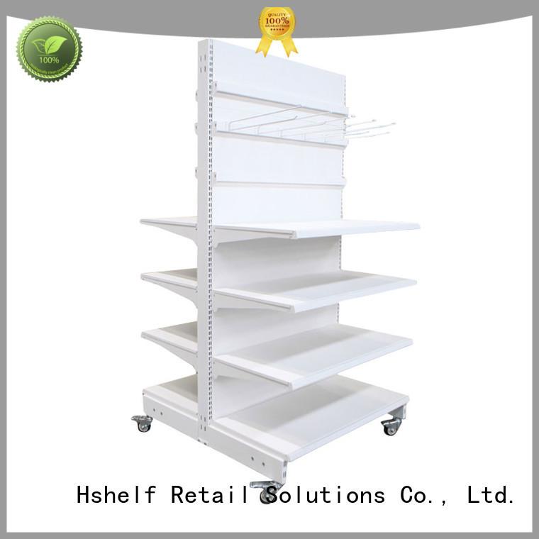 Hshelf oem custom wall shelves wholesale products for sale for supermarket