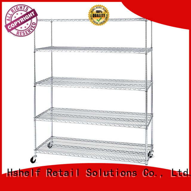 commercial wire rack series for retail shops