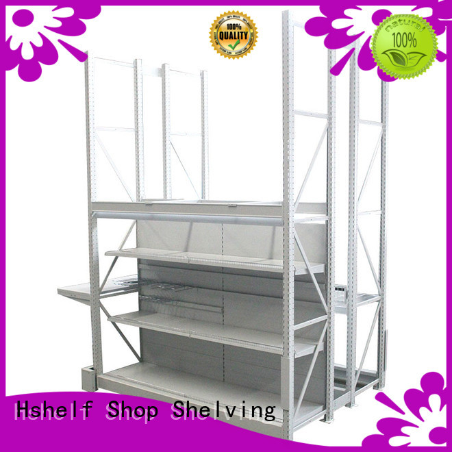 built-in storage racks series for shop